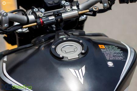 Yamaha MT-09 'Matte Black' do cuc ngau cua Saigon Maxspeed - Anh 19