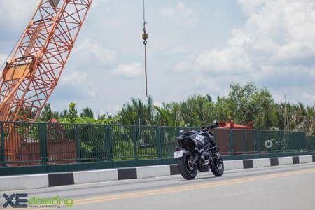 Yamaha MT-09 'Matte Black' do cuc ngau cua Saigon Maxspeed - Anh 20
