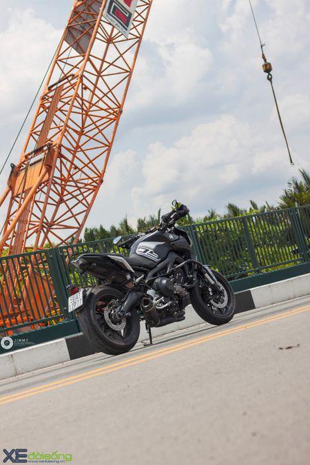 Yamaha MT-09 'Matte Black' do cuc ngau cua Saigon Maxspeed - Anh 22