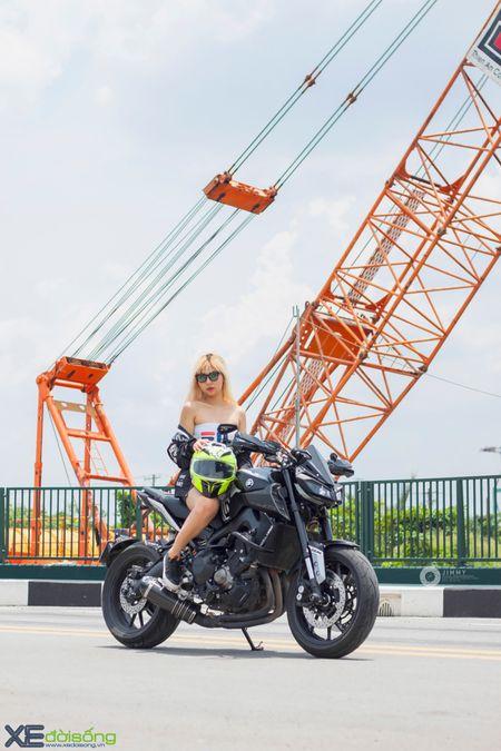Yamaha MT-09 'Matte Black' do cuc ngau cua Saigon Maxspeed - Anh 24