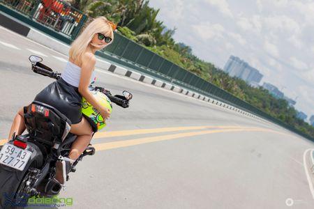 Yamaha MT-09 'Matte Black' do cuc ngau cua Saigon Maxspeed - Anh 26