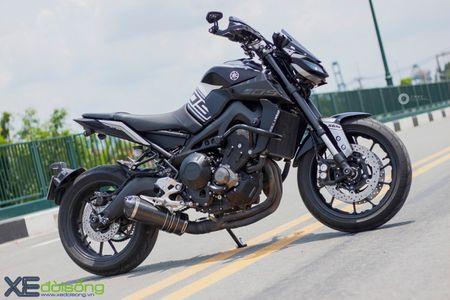 Yamaha MT-09 'Matte Black' do cuc ngau cua Saigon Maxspeed - Anh 2