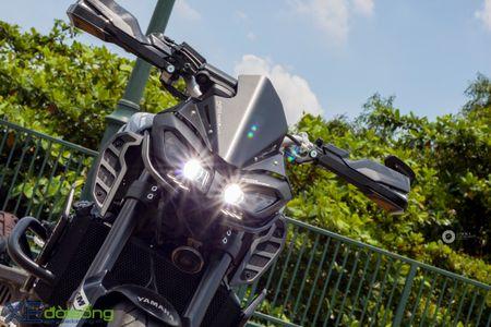 Yamaha MT-09 'Matte Black' do cuc ngau cua Saigon Maxspeed - Anh 6