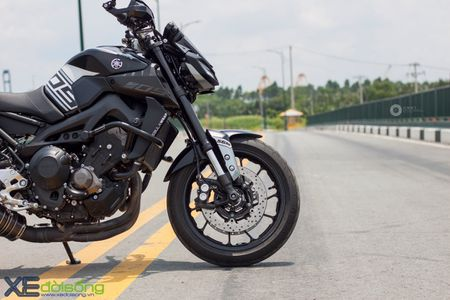 Yamaha MT-09 'Matte Black' do cuc ngau cua Saigon Maxspeed - Anh 8