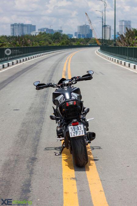 Yamaha MT-09 'Matte Black' do cuc ngau cua Saigon Maxspeed - Anh 9