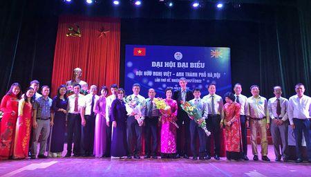 Dai hoi dai bieu Hoi huu nghi Viet - Anh thanh pho Ha Noi lan thu 3 - Anh 1