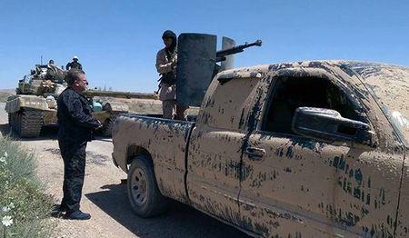 Ve binh Cong hoa yem tro, quan doi Syria thang lon o Tay Ghouta - Anh 1