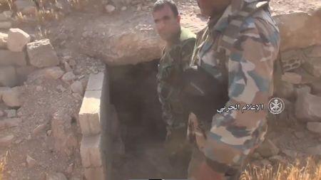 Quan doi Syria de bep IS, doat 14 thi tran va 6 cao diem tai Homs - Anh 1