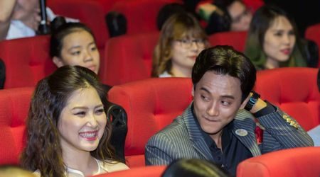 Huong Tram va nam chinh MV 'Em gai mua' quan quyt khong roi - Anh 6