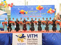 Lễ cắt băng khai mạc Hội chợ Du lịch quốc tế VITM 2016