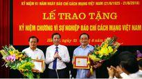 Trao tặng Kỷ niệm chương 'Vì sự nghiệp báo chí Việt Nam'
