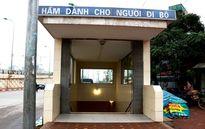 Hầm và cầu đi bộ ở Hà Nội: Liệu có đang lãng phí?