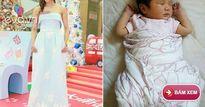 """Sau 3 tháng sinh con, """"Chị Cả TVB"""" Chung Gia Hân mảnh mai đáng ngưỡng mộ"""
