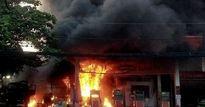 Cháy nổ khủng khiếp cây xăng ở TP.HCM: Thủ phạm là chiếc xe bồn