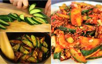 Giải ngán cho những món thịt mỡ bằng salad dưa chuột cực đưa cơm