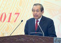 Phó Thủ tướng: Tham mưu phải đúng để chống lợi ích nhóm, tham nhũng