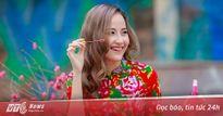 Khánh Ngân xinh đẹp đến ngẩn ngơ trong tiết Xuân Hà Nội