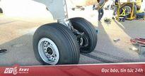 Máy bay của Trung Quốc bị vỡ bánh khi hạ cánh ở Campuchia