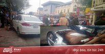 Xe ô tô gây tai nạn liên hoàn trên phố Hà Nội