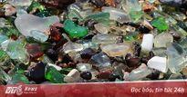 Sự thật 'bãi biển thủy tinh' với khiến du khách ngỡ ngàng ở Nga
