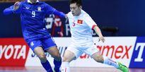 Việt Nam đối đầu với Thái Lan tại giải futsal Đông Nam Á 2017