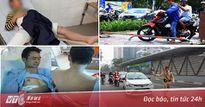 Học sinh bị xe tông gãy chân trong sân trường, người đàn ông bị đâm khi cứu người gặp nạn gây 'bão' mạng