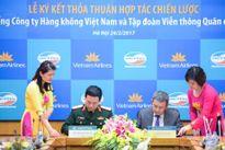 Vietnam Airlines ký kết thỏa thuận hợp tác với Viettel