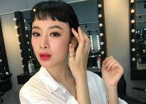 Vợ Lam Trường sắp sinh, Angela Phương Trinh lạ lẫm với mái ngố siêu ngắn