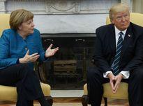 Tổng thống Mỹ Donald Trump và Thủ tướng Đức Merkel lần đầu hội đàm