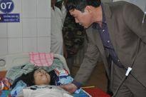 Bộ GD&ĐT thăm hỏi học sinh bị tai nạn nghiêm trọng tại Gia Lai