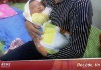 Ngỡ ngàng bé sơ sinh nặng 6,1kg