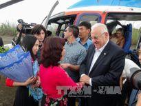 Tổng thống Israel và Phu nhân thăm Vịnh Hạ Long