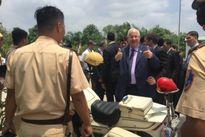 Tổng thống Israel Rivlin đến TP.HCM, khen cảnh sát Việt Nam