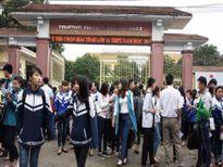 Nâng mức kỷ luật đối với giám thị ở Nghệ An chép hộ bài cho thí sinh