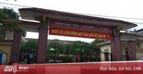 Nữ giám thị Nghệ An cho học sinh giỏi chép bài bị kỷ luật