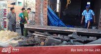 Sập tấm đan bê tông nhà xây trái phép, một công nhân chết thảm