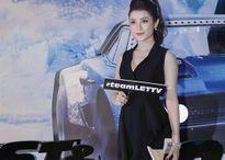 Á hậu Huyền My diện váy đen đầy quyến rũ tham dự buổi ra mắt phim Fast & Furious 8