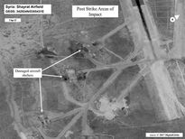 EIU: Mỹ 'đo đếm' ảnh hưởng tại Syria sau trận nã tên lửa Tomahawk