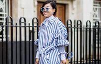 5 cách mặc đẹp với đầm sơ mi