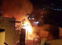 Cháy dữ dội giữa trung tâm Sài Gòn sau tiếng nổ lớn