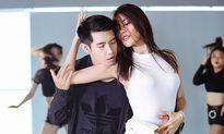 Lan Khuê khoe vũ đạo sexy bên Quang Đăng
