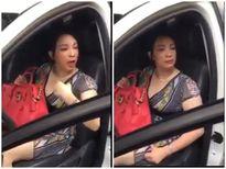 'Kiều nữ Hải Dương' gây náo loạn, cự cãi với CSGT