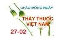 Ngày thầy thuốc Việt Nam là ngày nào?