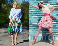 Gây ấn tượng ngay từ cái nhìn đầu tiên với cách mix đồ 'đẹp miễn chê' với chân váy như fashionista