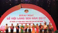 Nghệ An khai mạc Lễ hội làng Sen năm 2017