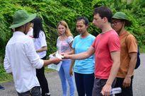 Sinh viên Pháp tại Đà Nẵng kêu gọi bảo vệ môi trường