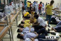 38 công nhân ở Bến Tre nhập viện nghi ngộ độc thực phẩm
