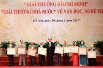 113 tác giả được trao Giải thưởng Hồ Chí Minh, Giải thưởng Nhà nước về VHNT