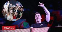 DJ Top 3 thế giới Hardwell 'cháy' hết mình cùng 20.000 khán giả Hà Nội