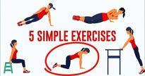 5 bài tập giúp tiêu mỡ thừa ở cánh tay